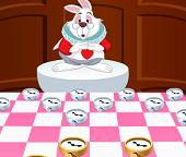 Партия в шашки с Кроликом