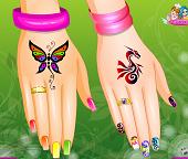 Летний дизайн ногтей: маникюр в стиле Радуга