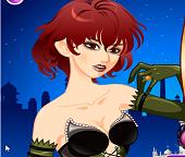 Макияж для влюбленной девушки Вампира