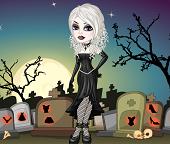 Одеваем девушку Вампира в готическом стиле