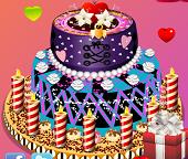 Монстр Хай. Красивый торт для именинницы