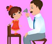Медицинское обследование  в детской клинике