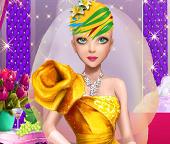 Свадебная супер прическа