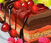 Готовим вишневый торт