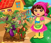 Дора работает на ферме
