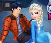 Эльза и Кен. Поцелуй