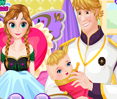 У принцессы Анны и Кристоффа родился ребенок