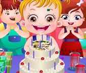 У Малышки Хейзел  День Рождения