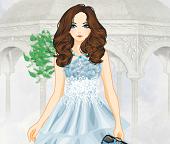 Мода. Синий цвет в женской одежде