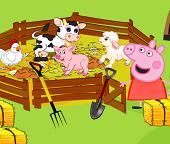 Помогаем  свинке  Пеппе ухаживать  за хозяйством