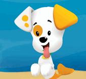Помощь щенку Гуппи и Пузырькам