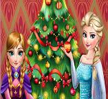 Эльза и Анна. Рождественская елка