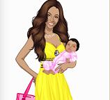 Готовим Бейонсе с ребенком на обложку журнала