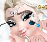 Делаем свадебный макияж для Эльзы