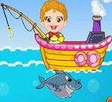 Мальчишка рыбак
