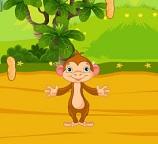 Собираем орехи с обезьянкой
