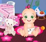 Детская комната для Малышки Розы