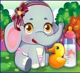 Уход за новорожденными слонятами