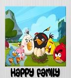 Семейный портрет злых птичек