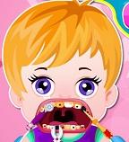 Лечим зубки  мальчишке  Глену