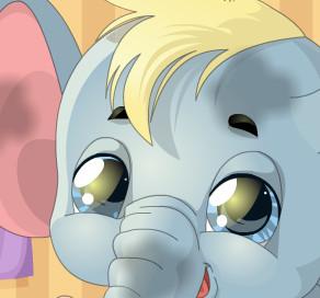 Зоосалон для слоненка