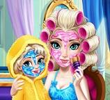 Королева Эльза. День рождения у принцессы дочки