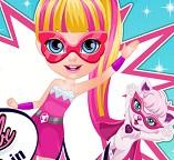 Малышка Барби супер герой