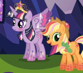 Помоги Пони Твайлайт Спаркл подготовиться к вечеринке