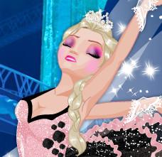 Эльза и Анна стали балеринами