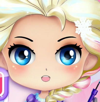 Малышка Эльза. Современный макияж