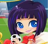 Девчонки тоже играют в футбол