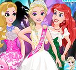 Принцесса Эльза на свадебной вечеринке