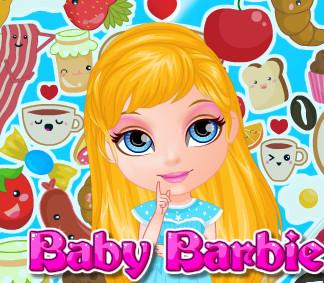 Идеальный завтрак для малышки  Барби