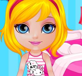 Летняя одевалка с малышкой Барби