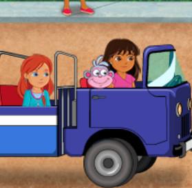 Дора и Сапожок спасатели