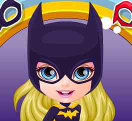 Костюм супер героя для малышки Барби