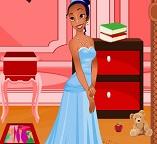 Уборка в детской комнате принцессы Тианы