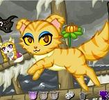 Прикольный Хэллоуин для котят