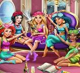 Пижамная вечеринка у  принцесс Диснея