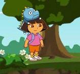 Дора спасает детёныша динозавра