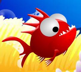Рыбка пожиратель