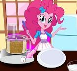 Готовим торт с девочкой Пони Пинки Пай