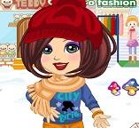 Одеваем Дору на зимнюю прогулку