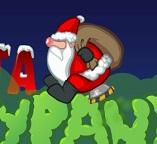 Дед Мороз в штанах с пропеллером