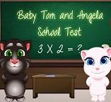 Детки кошек Тома и Анжелы учатся в школе