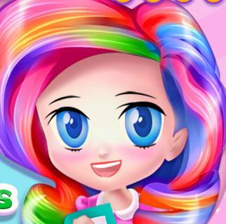 Прическа для Алиски в стиле мой милый Пони