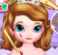 Принцесса  София получила травму