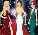 Готовим принцесс Диснея Белль, Рапунцель и Ариэль на красную дорожку