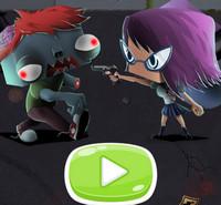 Девчонка против зомби
