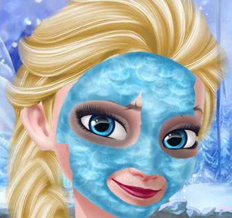 Ледяной СПА салон для принцессы Эльзы